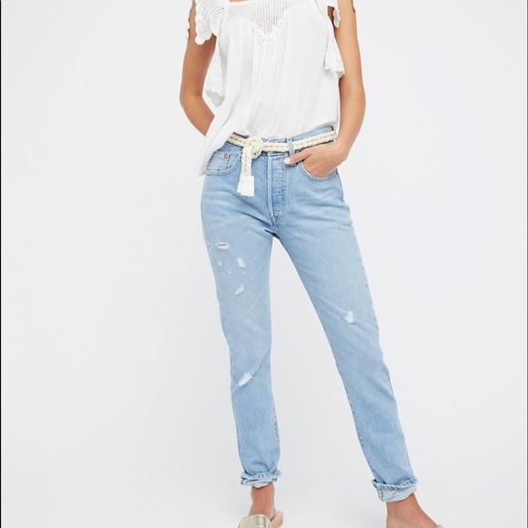 227d42bdef3 Levi's Jeans | Restocknwt Levis 501 Skinny Selvedge Blue Jean | Poshmark